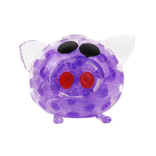 YiZYiF 1 PC Jouets Anti-stress Cochon Forme Splat de Décompression Boule Outil de Soulagement Stress Pour enfants Adultes Jouet à Presser Violet 1 pc