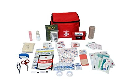 Tactical First Aid Kit: First Voice HIKE02 Hiker and Adventurer Essential First Aid Kit from First Voice