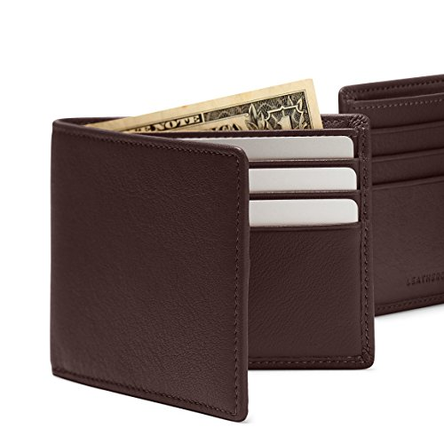 Rfid Wallet Bifold Thin Thin Bifold Brown Rfid Wallet Brown Thin wa7OF86q