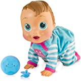 IMC Toys - 94727 - Baby Wow Teo bebé interattivo impara a gattonare (lingua italiana)