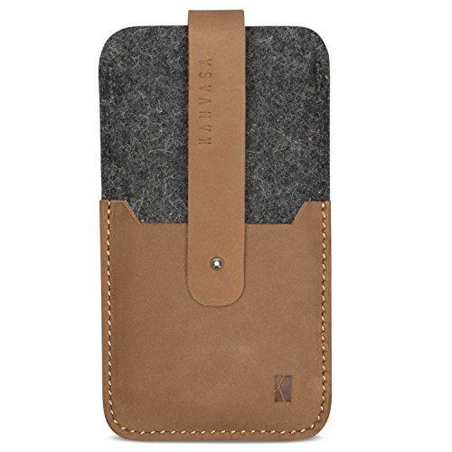huge discount 0b74e 11c0b KANVASA iPhone 8 / 7 / 6s / 6 Felt Leather Sleeve