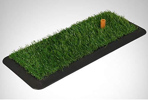 ゴルフマット、ゴルフ打撃マット芝ゴム打撃マット、持ち運びが容易な屋内練習用マットスイングマット  B B07S1WKR1R