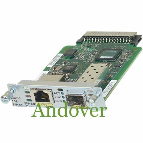 Cisco EHWIC-1GE-SFP-CU High-Speed WAN Interface Card