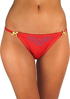 Wonder Woman Lace Back Panty