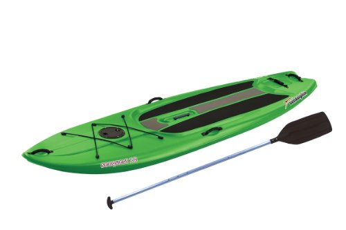 SUNDOLPHIN Sun Dolphin Seaquest Stand Up Paddleboard (Lime, 10-Feet)