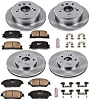 Autospecialty KOE5244 1-Click OE Replacement Brake Kit