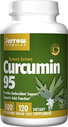 Jarrow Formulas Curcumin 95, Provides Antioxidant Support, 500 mg, 120 Veggie Caps (Jarrow Formulas Adrenal Optimizer)