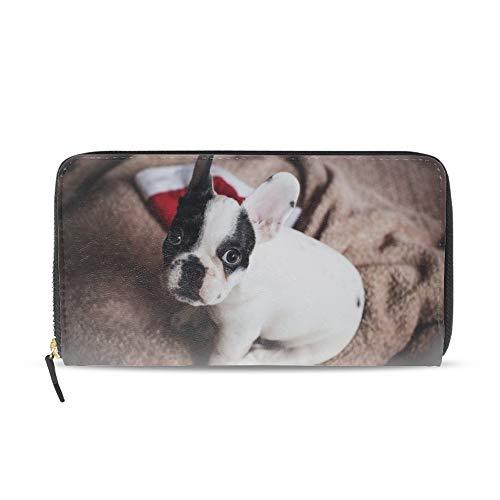 Women's Wallet - Long Bifold French Bulldog Wallet