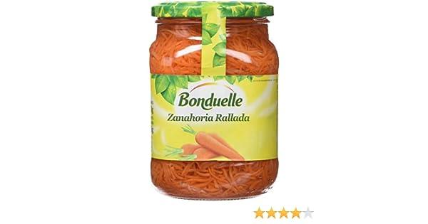 Bonduelle - Zanahoria Ralladas, frasco 280 ml: Amazon.es: Alimentación y bebidas