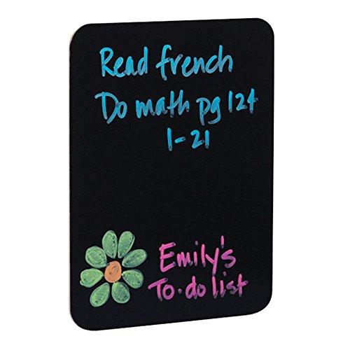 Flipside 40085 Black Dry Erase Boards, 0.25