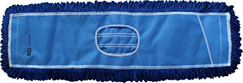 Dust Mops | 72'' Blue-Microfiber Industrial Style - 6 Pack by Direct Mop Sales