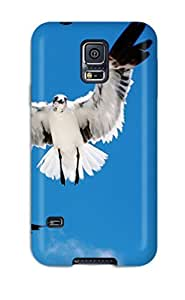 Galaxy S5 Case Cover Skin : Premium High Quality Three Seagulls Case