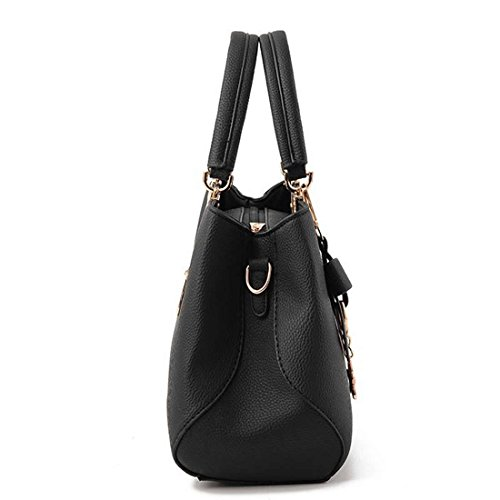 Shopping For Unyu Tote With Leather Messenger Shoulder Bags Bow Handbags handle Daily Travel Top Pu Use Women wOrn1wxC