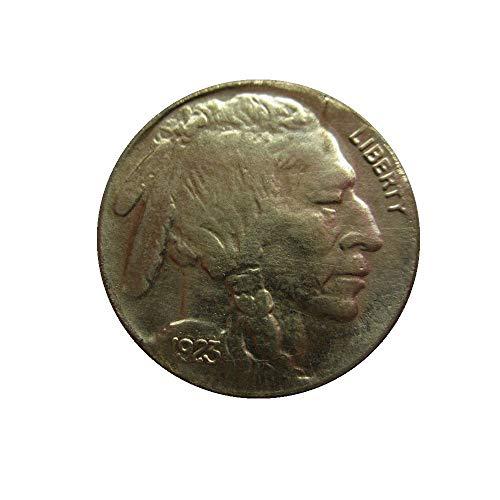 xingtingyu 1923 Buffalo Nickel Five Cents USA Indian Head Copy Decorative Coins