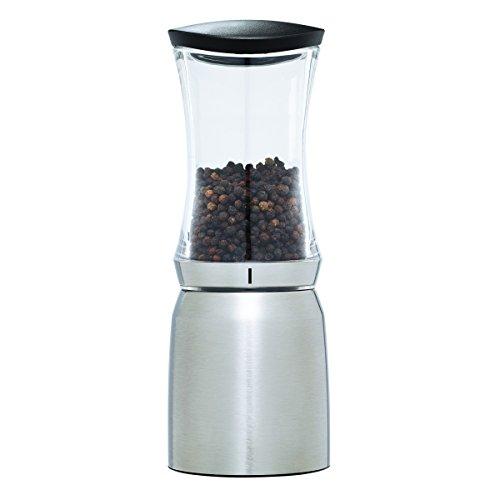 Kamenstein 5221297 Smart Mill Grinder Pepper, Stainless Steel