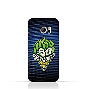 HTC 10 TPU Silicone Protective Case with Joker why so serious Design
