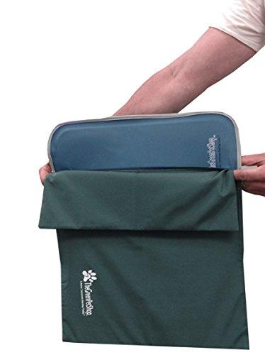 the green pet shop self cooling pet pad cover, medium/large