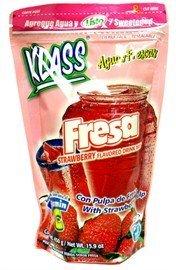 Klass Listo Strawberry Drink Mix (Pack of 12)