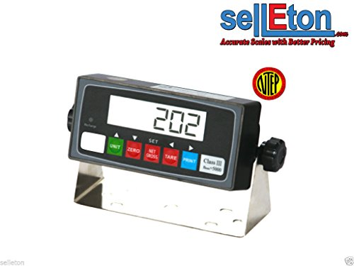 Selleton Ps-In202 Ntep Legal for Trade Indicator with Rs-232 Port/Floor Scale