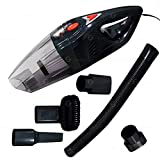 Zone Tech Car Vacuum Cleaner Portable- Premium Quality Strong Suction Multiple Combination Car Vacuum