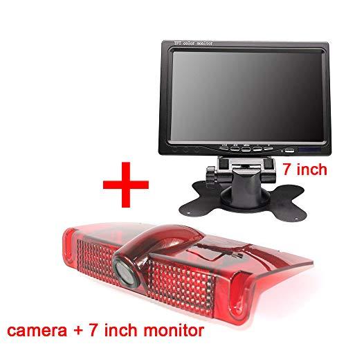 Navinio Car Third Roof Top Mount Brake Lamp Camera Brake Light Rear View Backup Camera+7