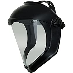 Uvex Bionic Face Shield with Clear Polycarbonate Visor (S8500)