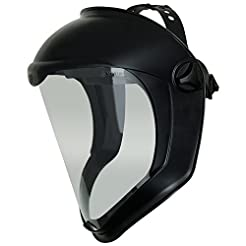 Uvex Bionic Face Shield with Clear Polyc...