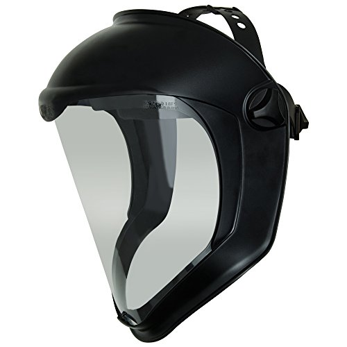 Ideal Shield - Uvex Bionic Face Shield with Clear Polycarbonate Visor and Anti-Fog/Hard Coat (S8510)