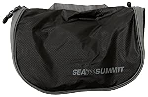 Sea to Summit Travelling Light Hanging Toiletry Bag (Large/Black)