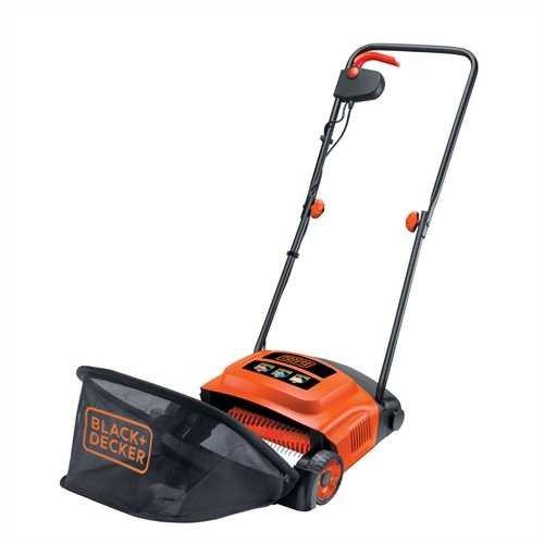 Black + Decker - GD300 - Aérateur Démousseur  - 600 W 30 cm - Orange