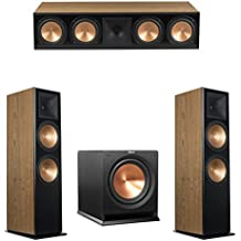 Klipsch 3.1 Cherry System with 2 RF-7 III Floorstanding Speakers, 1 RC-64 III Center Speaker, 1 Klipsch R-112SW Subwoofer