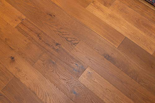 Vintage Honey White Oak Engineered Hardwood Floor (Sample) (Oak Honey Hardwood Flooring)