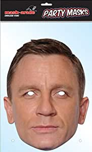 Daniel Craig / James Bond Celebrity Party Mask (máscara/ careta)