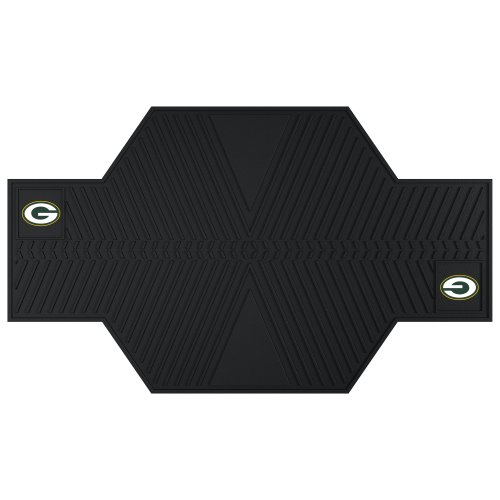 FANMATS 15318 NFL Green Bay Packers Motorcycle Mat by Fanmats