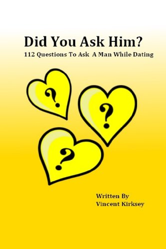 Things to ask a guy while dating
