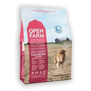 Open Farm Wild Caught Salmon Grain Free Dog Food 12lb Review