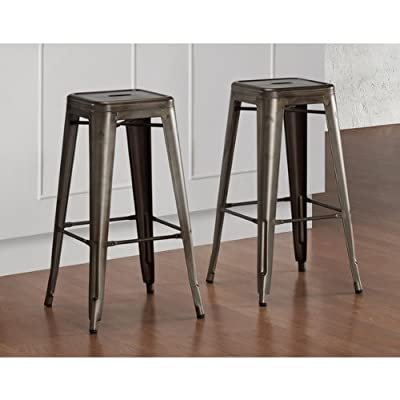 Tabouret Vintage 30-inch Bar Stools 9283182 (Set of 2).