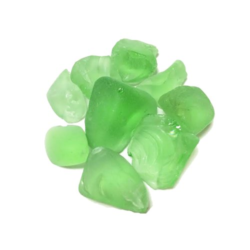 CYS Vase Filler Sea Glass Table Scatters, Frosted Green, lbs per bag (24 bags) - 1 lb per bag by Modern Vase & Gift