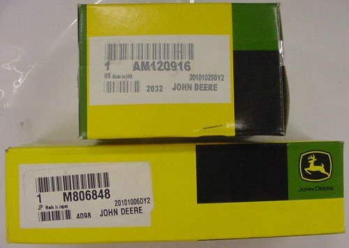 - John Deere AM120916 M806848 Genuine OEM Transmission Filter Kit 325 335 345 355D