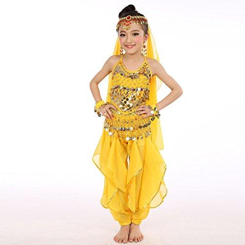 Carnevale Festa Compleanno Cerimonia Zarupeng Per Giallo Vestito Fiore Nozze Abito Cosplay Bambini Ballerina Pageant Lungo 1 Battesimo Ragazze Arcobaleno Sera Abiti Ragazze qfI78