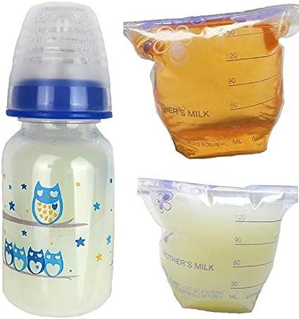2 Ounce Sealed Reborn Baby Bottle Faux Formula w// NO HOLE NIPPLE