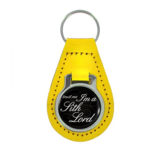 Accessories Sith Boxed (Trust Me I'm A Sith Lord Design Keyring Gift Boxed - YELLOW LEATHER)