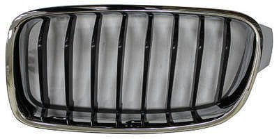 Grille Multiple Manufactures 1999+ OE Replacement 2013-2015 BMW 3/_SERIES/_SEDAN/_ Partslink Number BM1200236