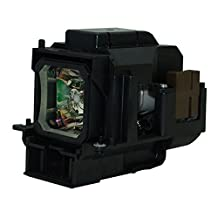 AuraBeam Economy NEC VT676 Projector Replacement Lamp with Housing