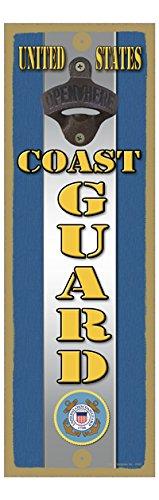 Coast Guard Wood Sign ((SJT07467) United States Coast Guard 5