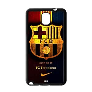 Retro FC Barcelona Samsung Galaxy Note 3 Case Cover TPU Futbol Club Barce