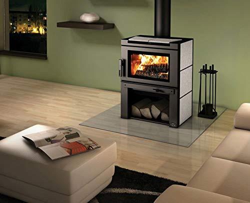 Osburn OB02020 Matrix Wood Stove with Blower and Soap Stone Panels