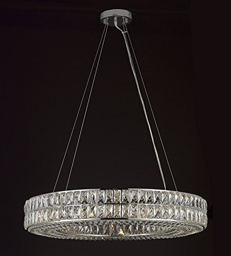 Crystal spiridon ring chandelier chandeliers modern contemporary crystal spiridon ring chandelier chandeliers modern contemporary lighting pendant 32 wide good for dining room foyer aloadofball Choice Image
