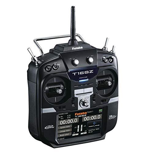 Futaba 01004355-3 16Sza 2.4GHz FASST Airplane Spec Radio System with R7008SB Receiver