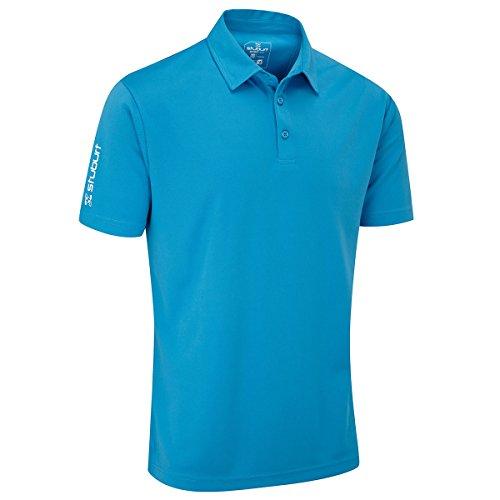 Sport Colore Da Uomo Polo Large Stuburt Taglia Blue Bondi Nero Men's 5qnRRS